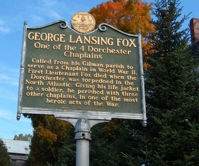 George Lansing Fox Marker image. Click for full size.