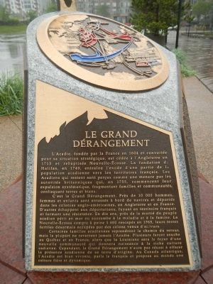 Le Grand D�rangement Marker image. Click for full size.