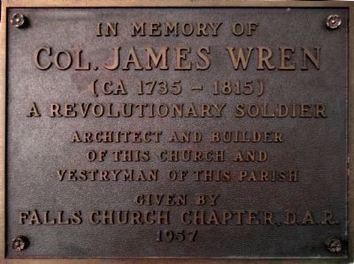 Colonel James Wren image. Click for full size.