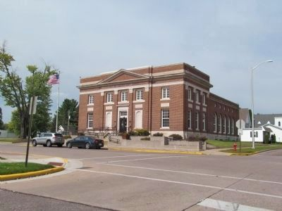 Merrill Post Office image. Click for full size.