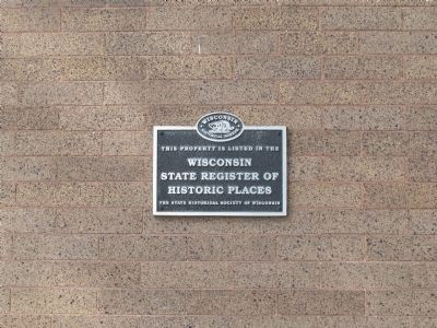 Lincoln County Courthouse <small>SRHP</small> Plaque image, Click for more information