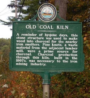 Old Coal Kiln Marker image. Click for full size.