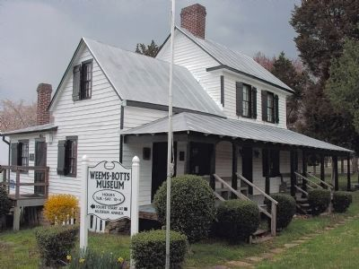 Weems Botts Museum image. Click for full size.