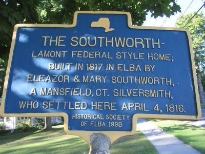 The Southworth Marker image. Click for full size.