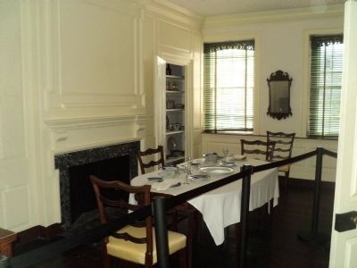 The Germantown White House Dining Room image. Click for full size.