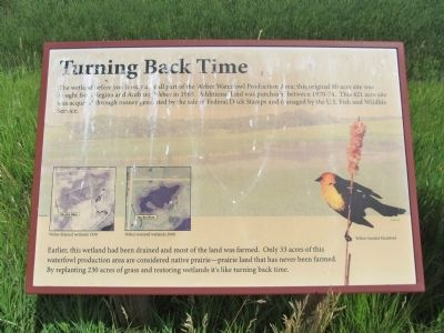 Turning Back Time Marker image. Click for full size.