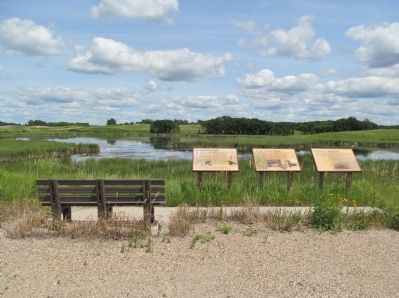 Weber Waterfowl Production Area and Interpretive Panels image. Click for full size.