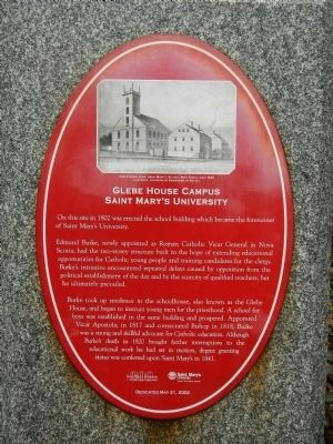 Glebe House Campus Marker image. Click for full size.