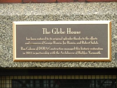 The Glebe House image. Click for full size.