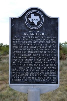 Vicinity of Indian Fight Marker image. Click for full size.