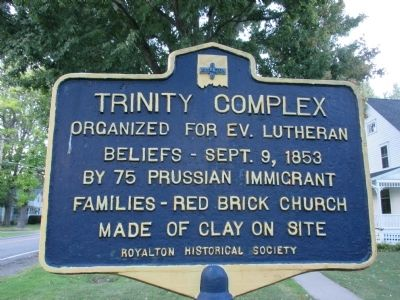 Trinity Complex Marker image. Click for full size.