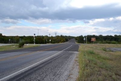 View to Northeast along US 277 image. Click for full size.
