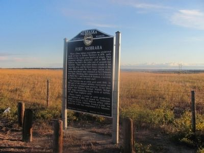 Fort Niobrara Marker image. Click for full size.