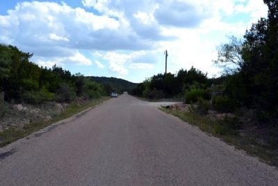 View to South Along Old Coleman Highway image. Click for full size.