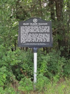 Olof Olson Haugen Marker image. Click for full size.
