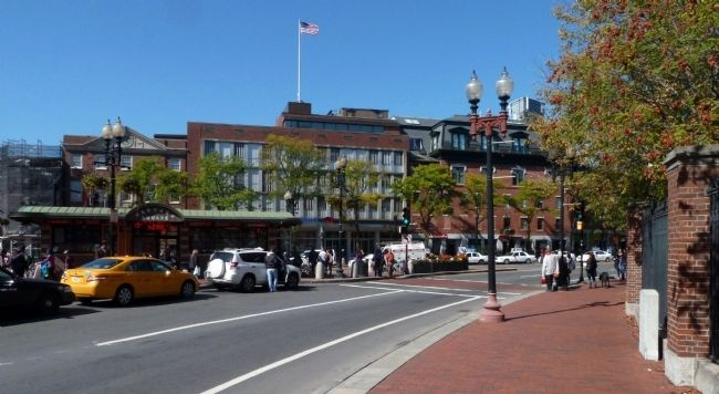 Wider View of Harvard Square image. Click for full size.