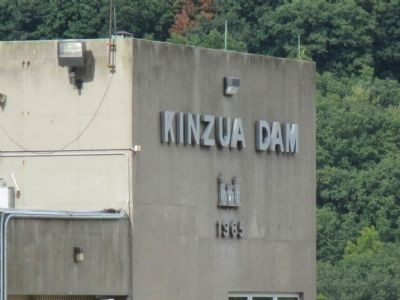 Kinzua Dam Date Sign image. Click for full size.