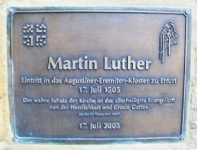Martin Luther Marker image. Click for full size.