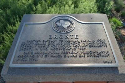 Bronte Marker image. Click for full size.