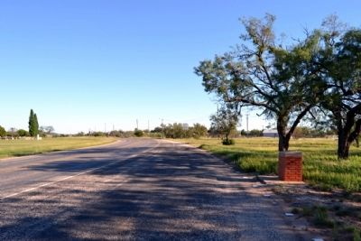 View to Southeast Along State Highway 158 image. Click for full size.