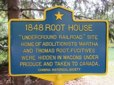 1848 Root House Marker image. Click for full size.