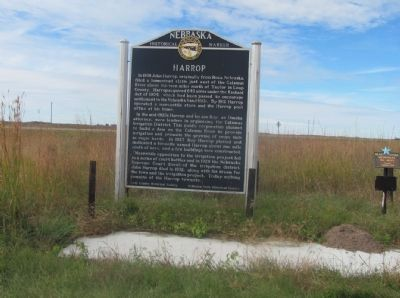 Harrop Marker image. Click for full size.
