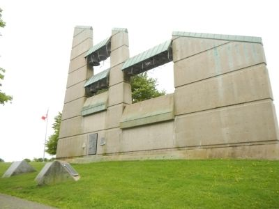 Halifax Explosion Memorial Bell Tower. image. Click for full size.
