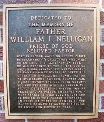 Father William L. Nelligan Marker image. Click for full size.