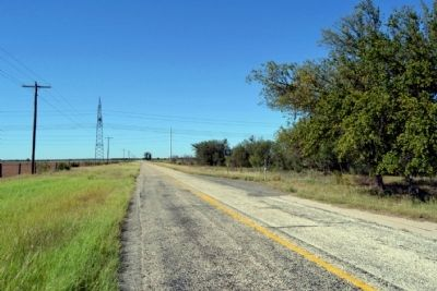 View to Northwest Along FM 1086 image. Click for full size.