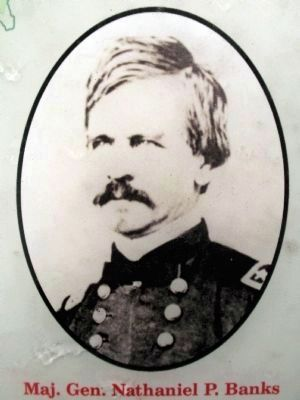 Major General Nathaniel P. Banks image. Click for full size.