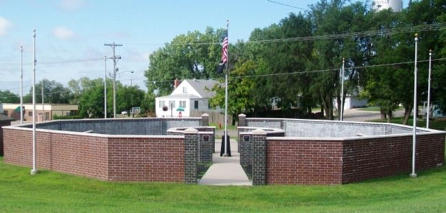 Marshall County Veterans Memorial image. Click for full size.