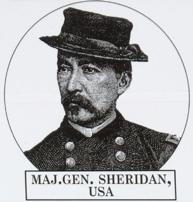 Major General Philip Sheridan<br>USA image. Click for full size.