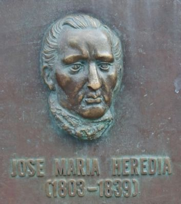 José María Heredia (1893–1839) image. Click for full size.