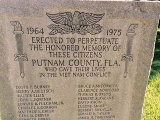 Putnam County Viet Nam Memorial image. Click for full size.