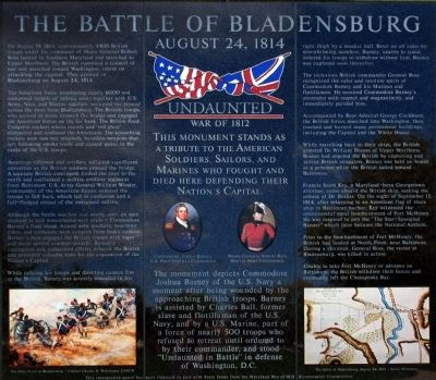 Undaunted In Battle Marker image. Click for full size.