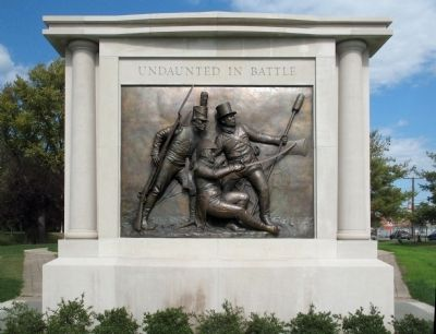 Undaunted In Battle Monument image. Click for full size.