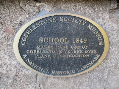 Gaines District No.5 1849 School House Plaque image. Click for full size.