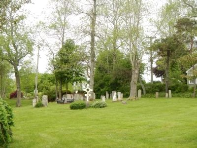 The Old French Cemetery image. Click for full size.