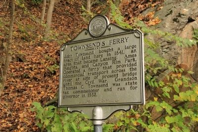 Townsend's Ferry Marker image. Click for full size.