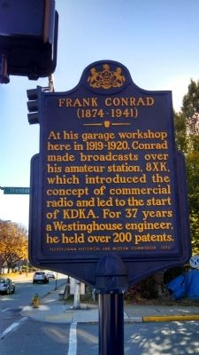 Frank Conrad Marker image. Click for full size.