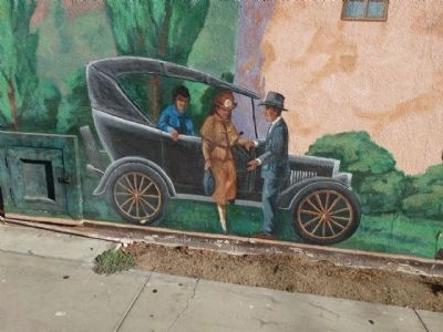 Whiskey Creek History Mural image. Click for full size.