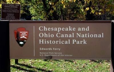 Chesapeake and Ohio Canal<br>National Historical Park<br>Edwards Ferry image. Click for full size.