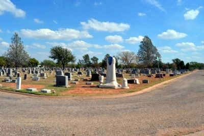 Cedar Hill Section of Cemetery image. Click for full size.