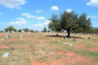 City Section of Cemetery image. Click for full size.