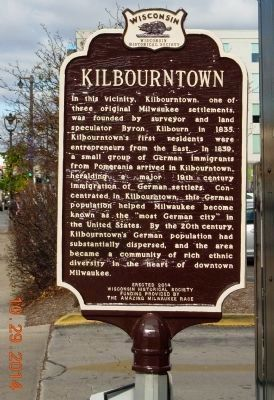 Kilbourntown Marker image. Click for full size.
