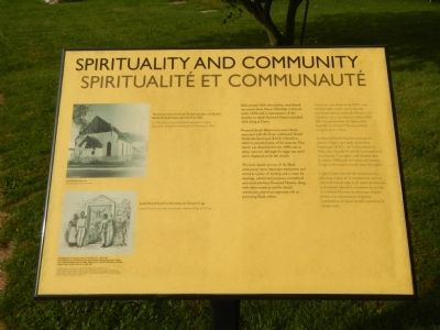 Spirituality and Community Marker image. Click for full size.