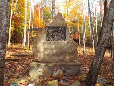 Hawks Nest Workers Memorial and Grave Site Marker image. Click for full size.
