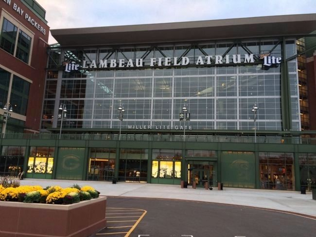 Lambeau Field image. Click for full size.