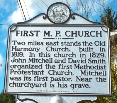 First M.P. Church Marker image. Click for full size.