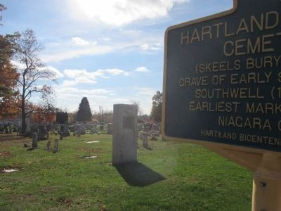 Hartland Central Cemetery Marker image. Click for full size.